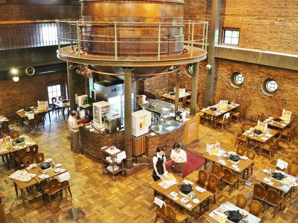 サッポロビール園を代表するケッセルホール