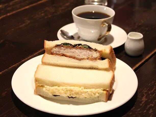 「桜島美湯豚」使用のカツサンド