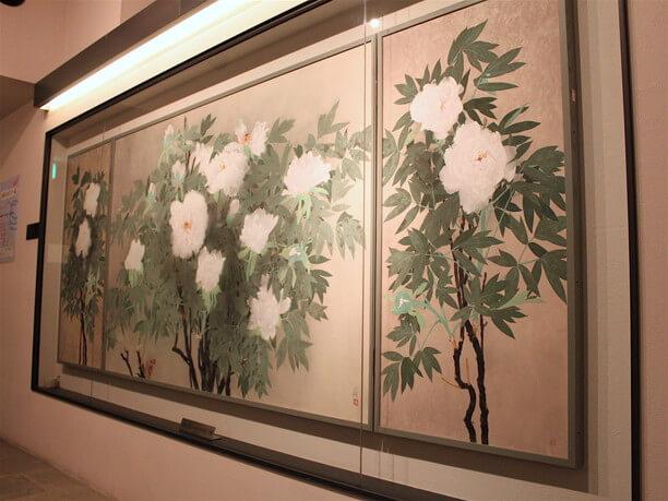 大きな日本画