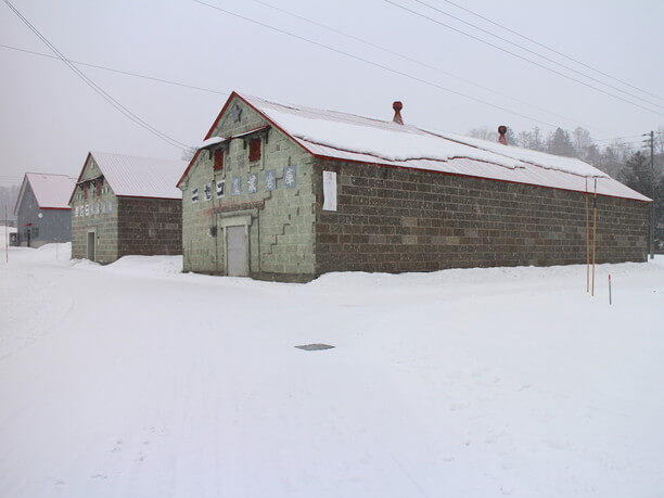 石造りの1号倉庫