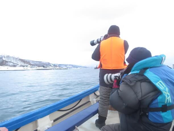 船から撮影
