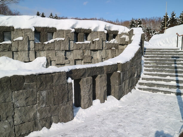 冬の札幌芸術の森野外美術館