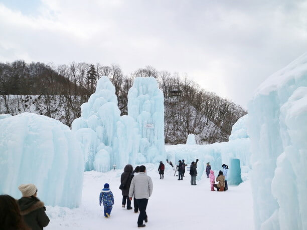 千歳・支笏湖氷濤まつり