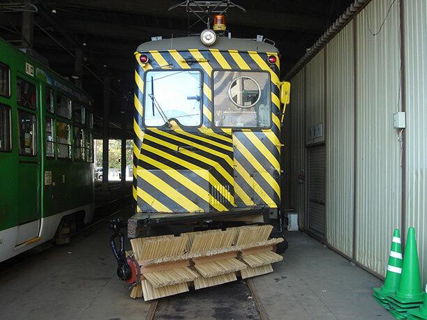 除雪用ササラ電車
