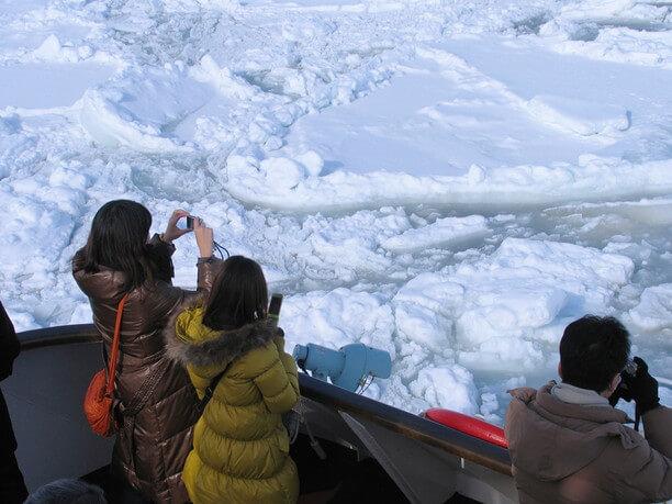 大きな流氷