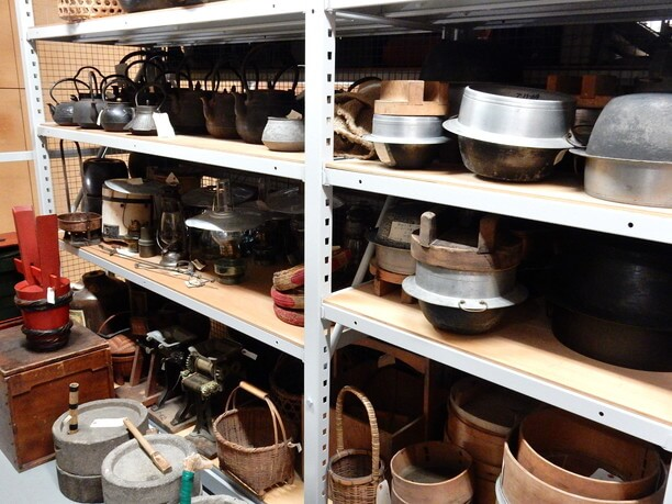 多種多様な収蔵品