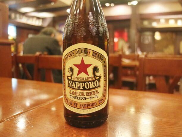 サッポロラガービール