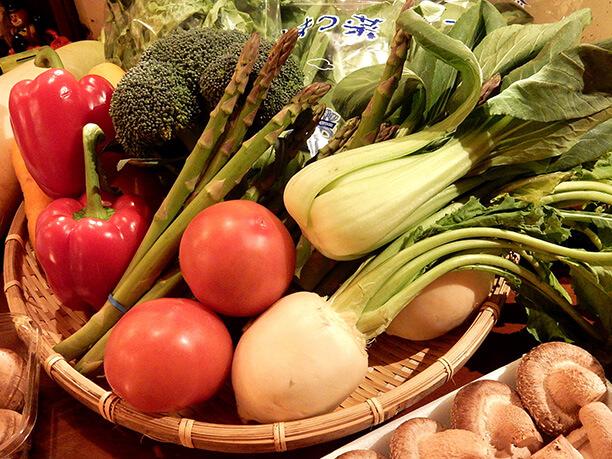質の良い野菜
