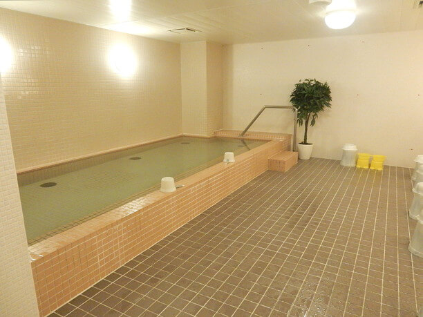 光明石温泉の大浴場