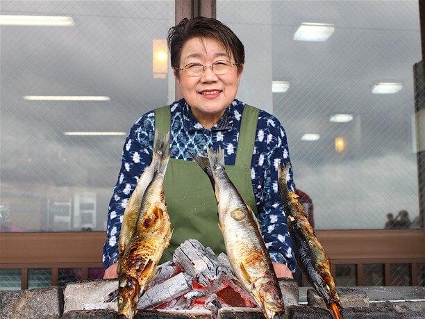 三代目の青塚準子さん