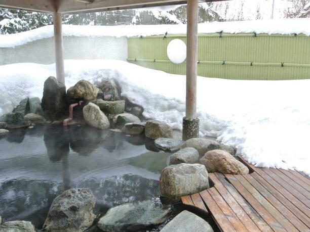 四季を感じさせていくれる露天風呂