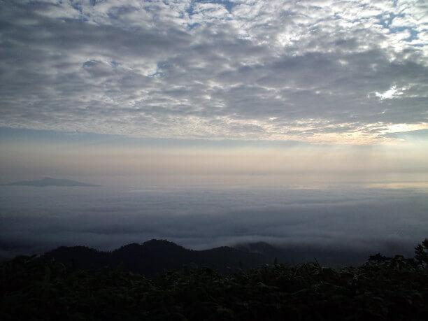 美しい知床連山