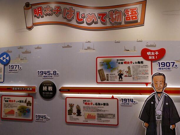 明太子の歴史