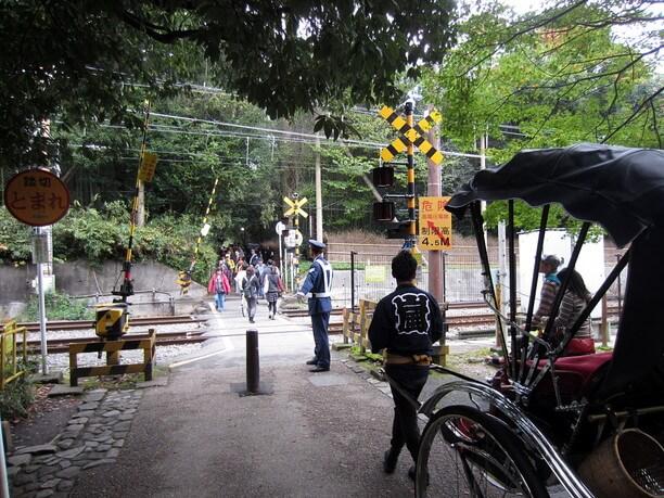 JR山陰本線の線路