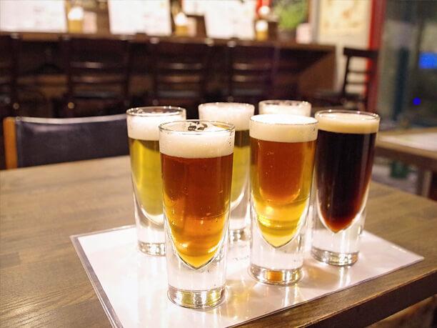六甲ビール飲みくらべセット