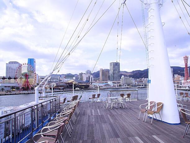 海から見る神戸