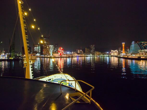 船から見る夜景