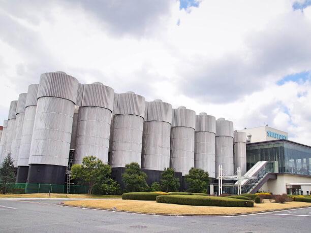 サントリーのビール工場