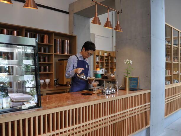 店長の川口さんが丁寧にドリップして淹れてくださるコーヒー