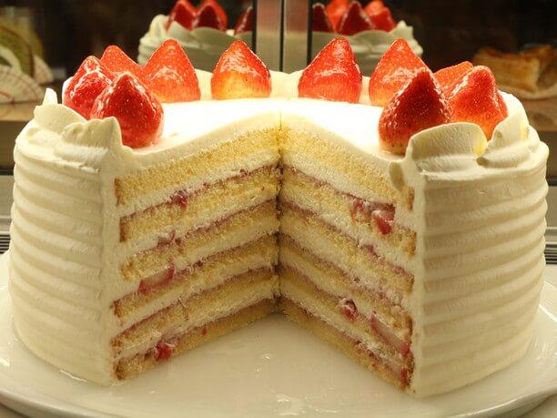 数量限定のショートケーキ