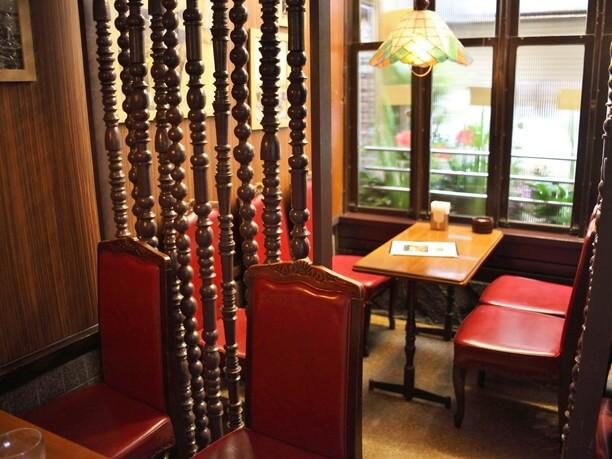 レトロな喫茶室