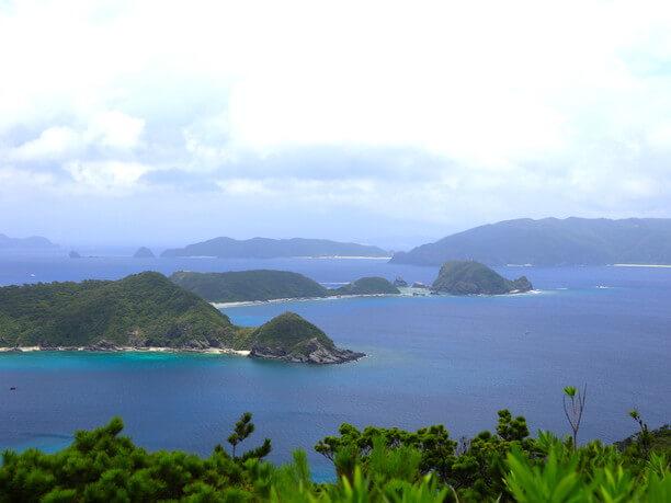 高月山(たかつきやま)展望台からの眺め