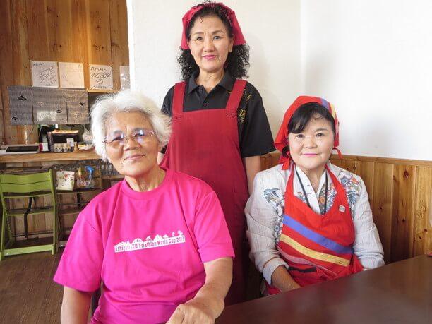 田福久子さんと姉妹
