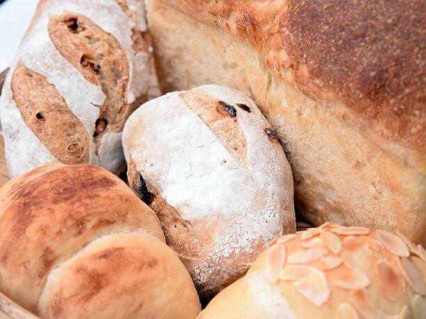 食パンやハード系のパン