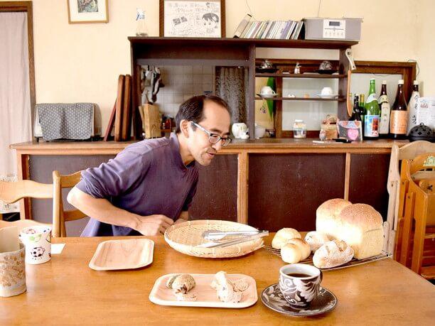 小野さんとパン