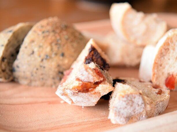 天然酵母パンの味