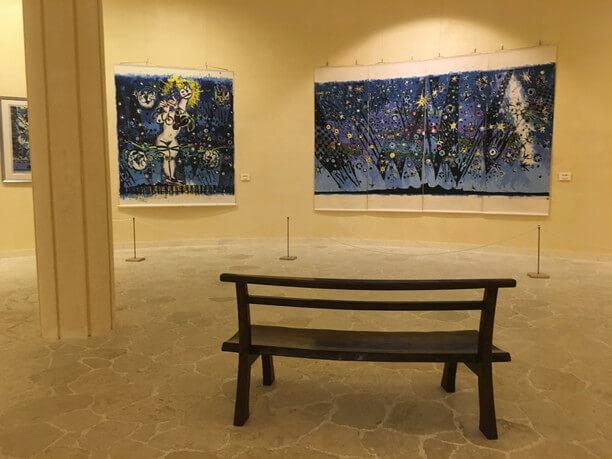 大作が展示されることもあるボクネン美術館