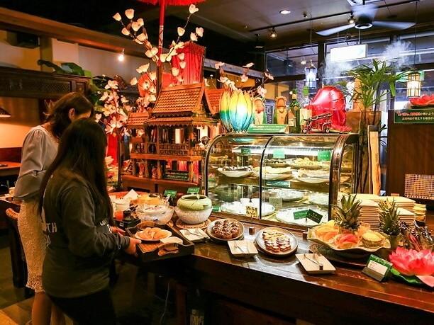 asian café Chai Dee(アジアンカフェ・チャイディー)店内