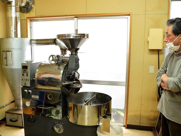 サンスイ珈琲の焙煎工房