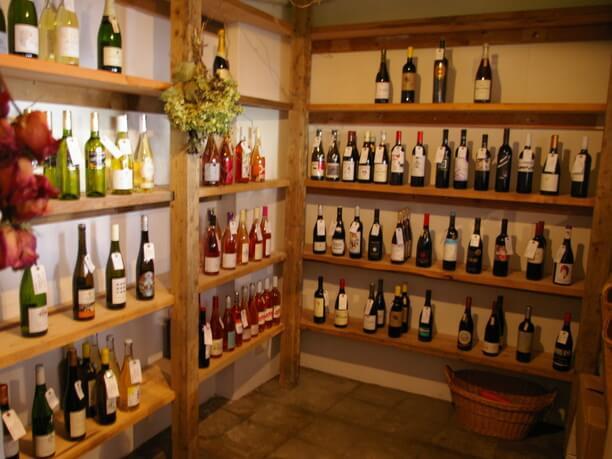 カーブ(ワインの倉庫)