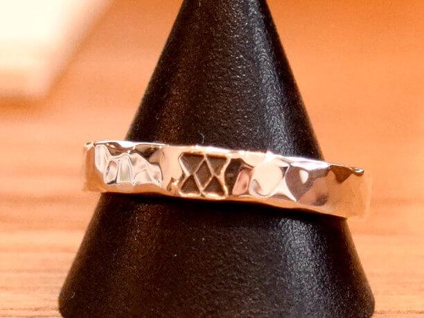 イチチブシ(五つ星)デザインの指輪