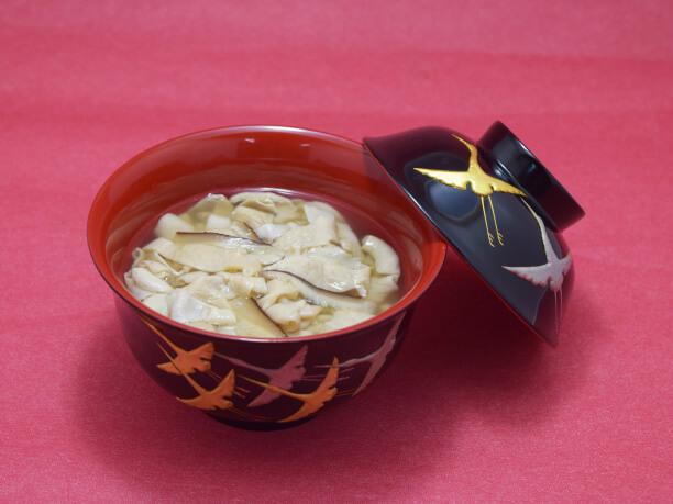 伝統の中身汁