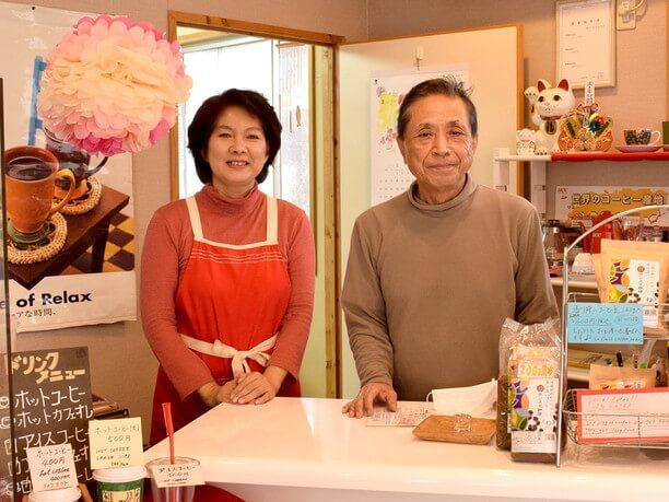 店主の比嘉良和さんと奥様の由美子さん