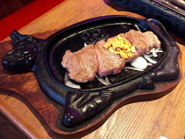 1,000円ステーキ