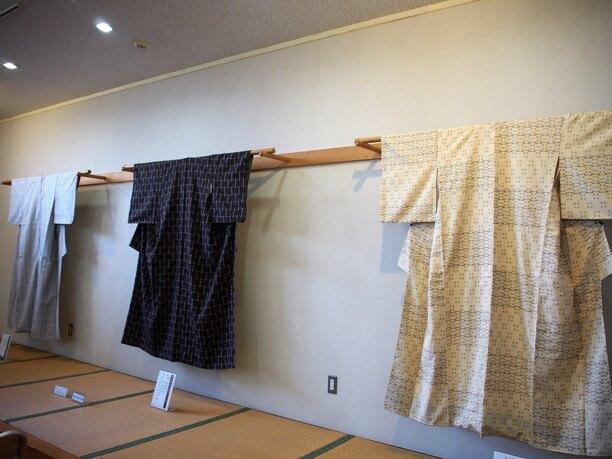 久米島紬の着物