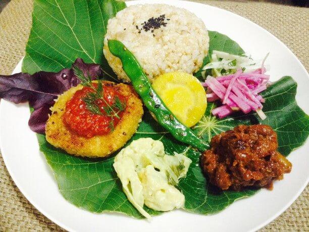 OKINAWA FOOD FLEA(オキナワフードフレア)」という食のイベントで出された料理