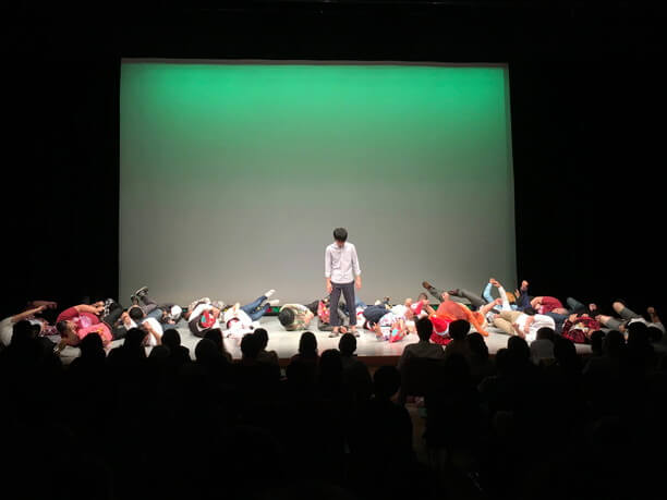 FECの定期公演「お笑い劇場」