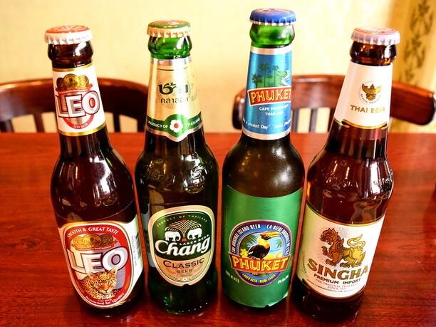 タイビール各種