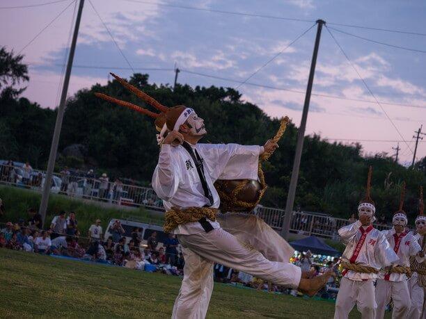 エイサーの踊り手