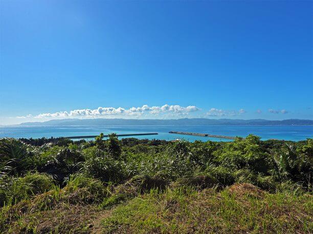 八重山の島々が形成する悠遠な景観