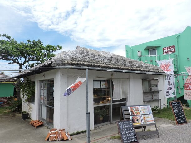 宮古島の西の浜近くにあるirayoi(いらよい)
