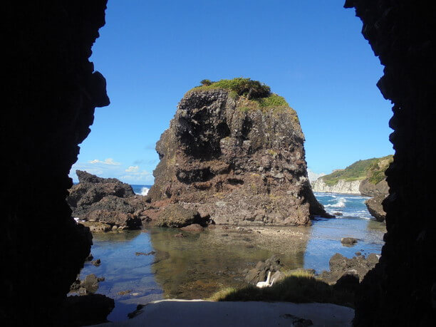 観光地沖縄とは違った風景