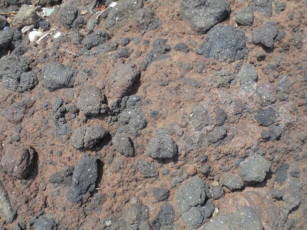 火山の名残