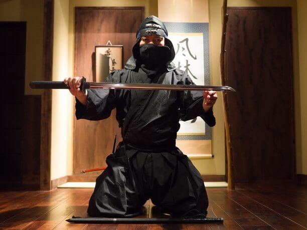 忍者の先生