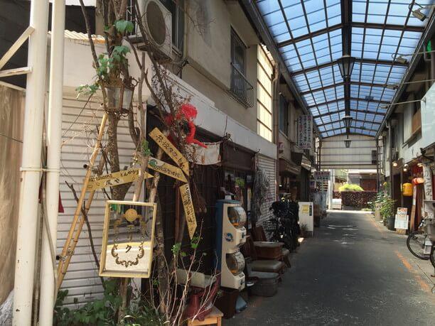 松陰神社通り商店街