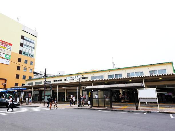 東京駅まで13分が便利な新小岩井駅